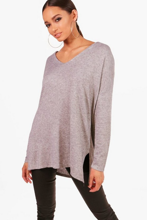 Esme V Neck Knitted Top