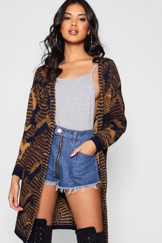 Emma Intrasia Knitted Edge To Edge Cardigan