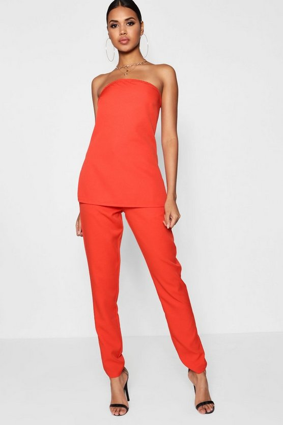 Bella Boutique Tailored Tapered Trouser