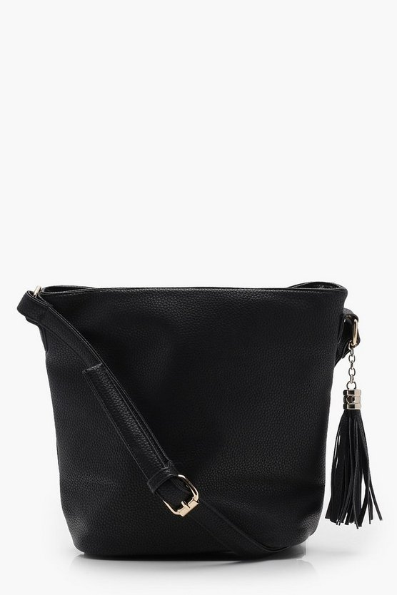 PU Bucket Cross Body Bag