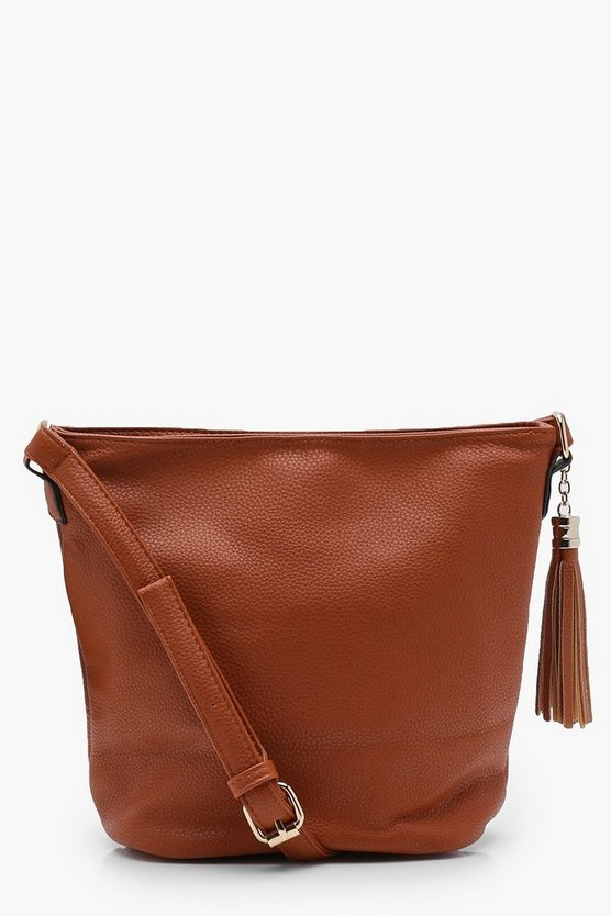 Millie PU Bucket Cross Body Bag