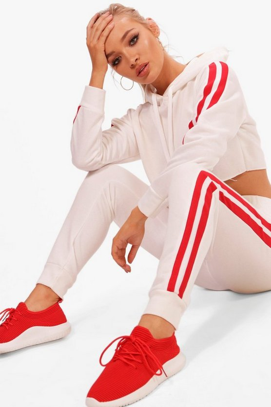 Nadia Fit Athleisure Stripe Jogger