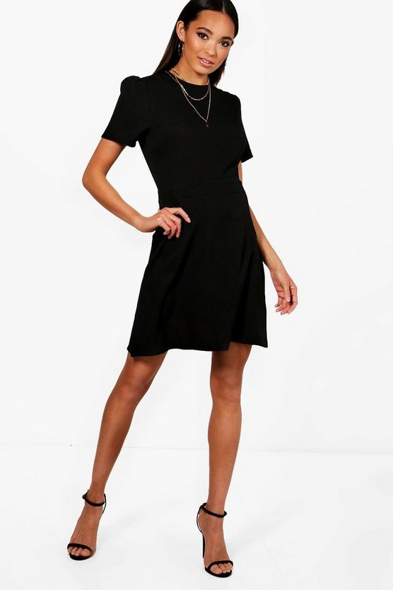 Mia Tailored Woven Skater Dress