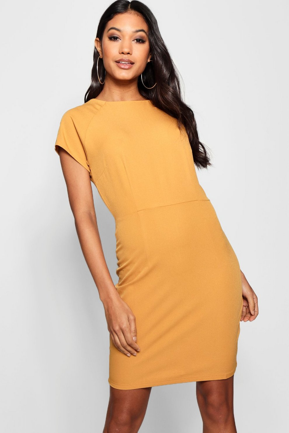 Boohoo Tailored Woven Dress