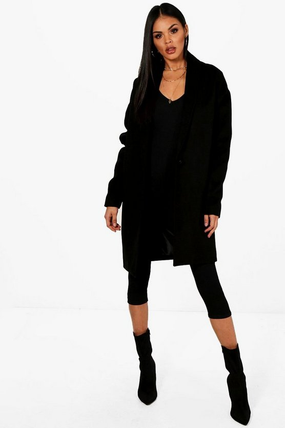 Harriet Oversized Wool Look Coat