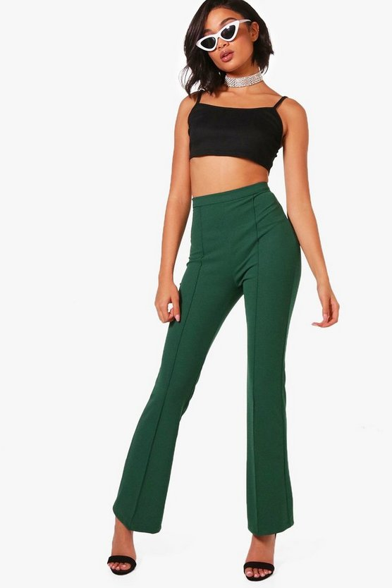 Priya Stretch Flare Trousers