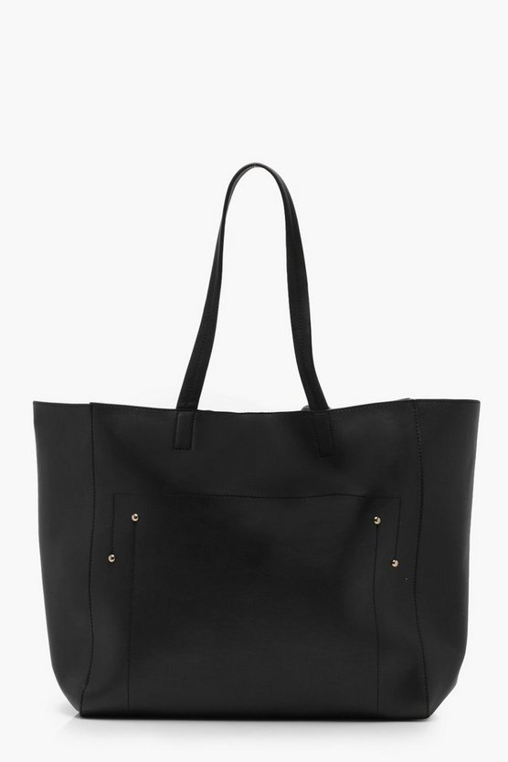 Mia Stitch And Stud Tote