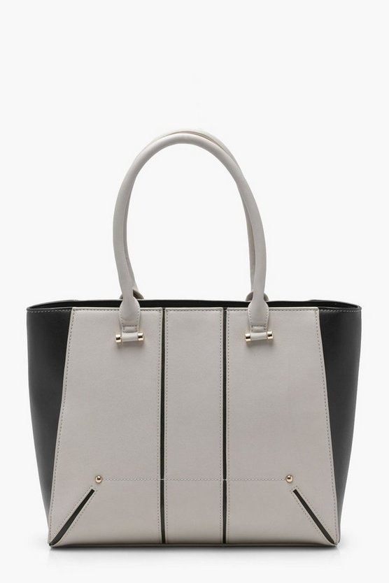 Millie Stitch And Stud Tote