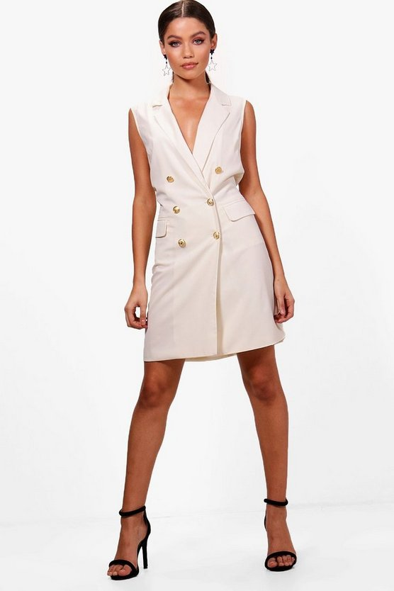 Amelia Sleeveless Blazer Dress
