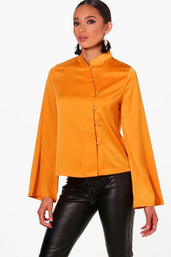 Lily Mandarin Collar Jacket