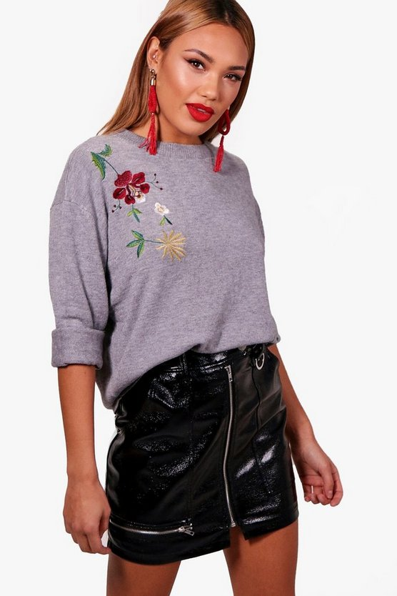 Ivy Embroidered Jumper