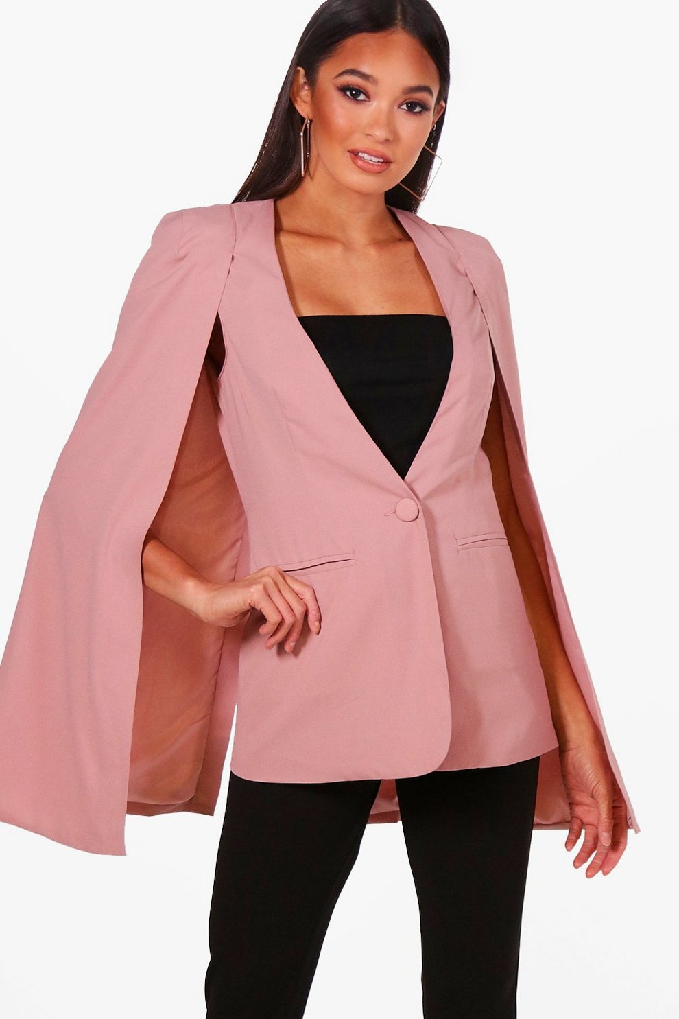 Boohoo Boutique Cape Blazer Order Big Discount For Sale Pre Order Online Nicekicks Sale Online Cheap Sale Amazing Price iWsqwoy070