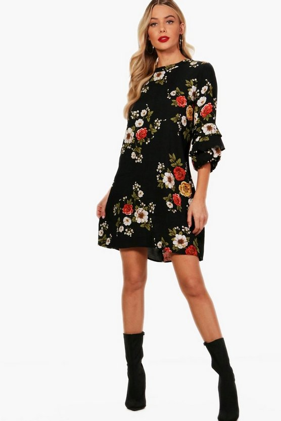 Hayley Floral Shift Dress