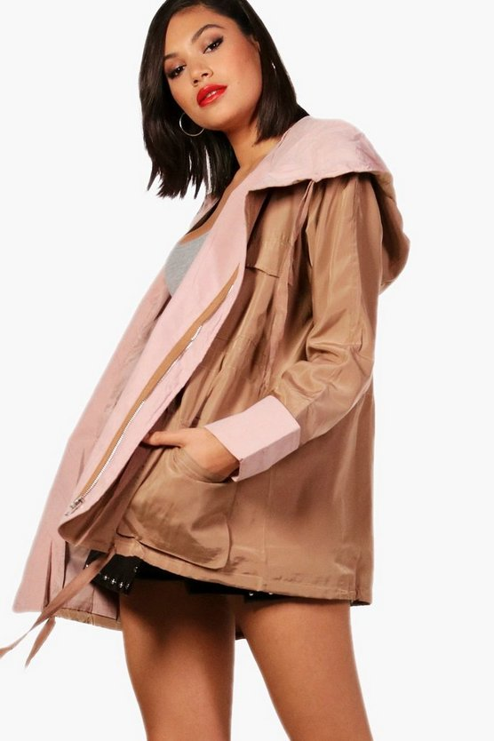 Pixie Contrast Trim Jacket