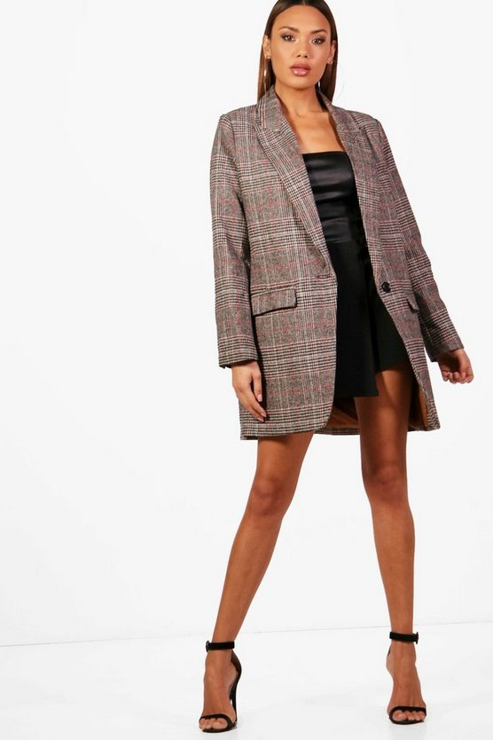 Ayda Check Coat