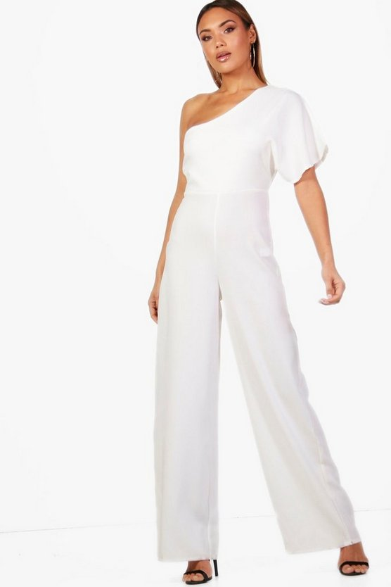 Emma One Shoulder Jumpsuit