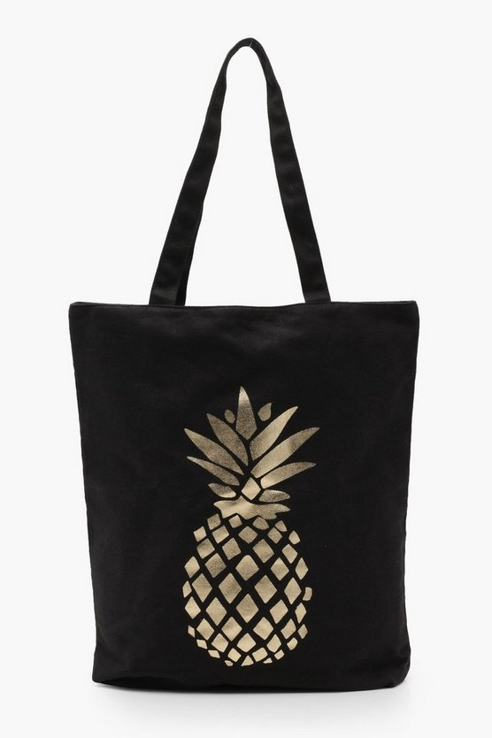 Heidi Full Shopper mit Ananas-Print
