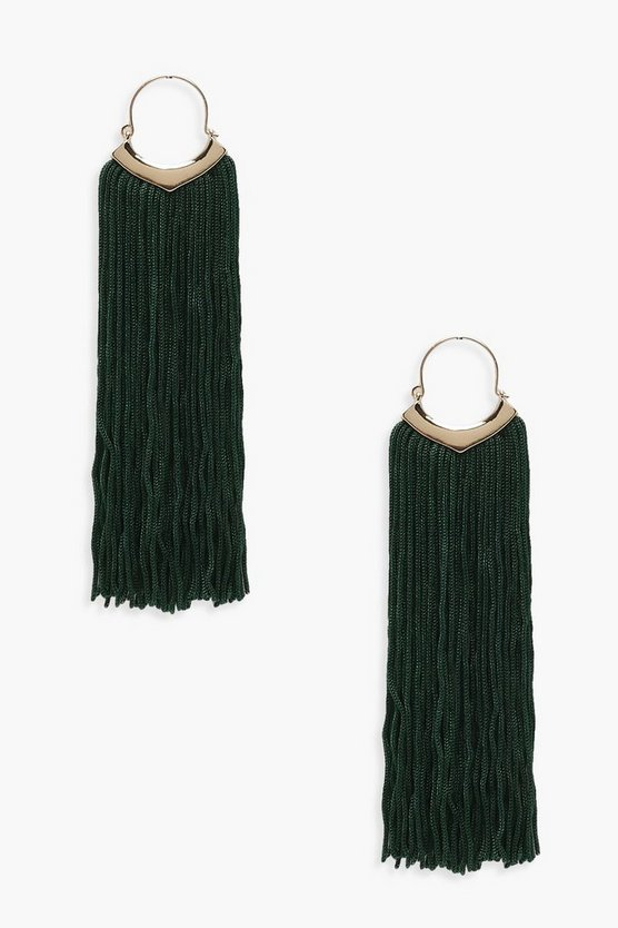 Felicia Statement Tassel Earrings