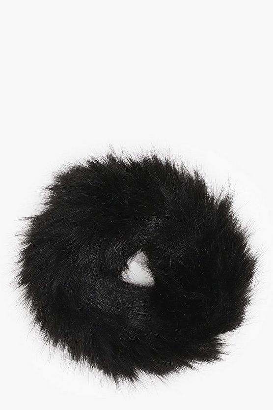 Mia Faux Fur Scrunchie