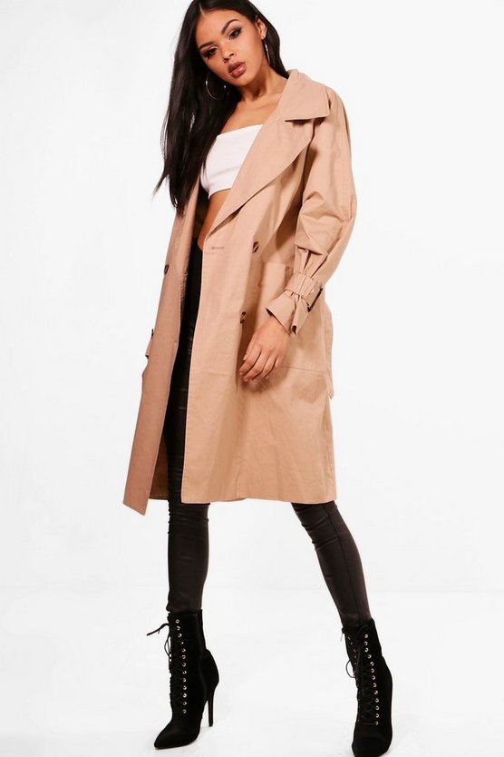 Sara Oversized Trench Coat