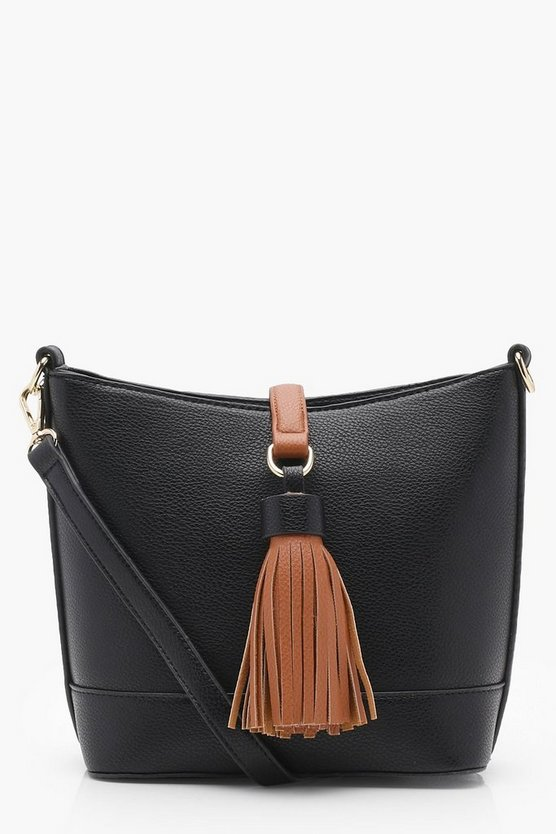 Tassel Detail Cross Body