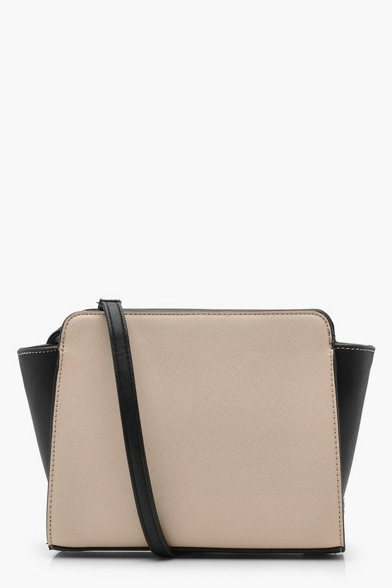 Crosshatch Colour Block Cross Body