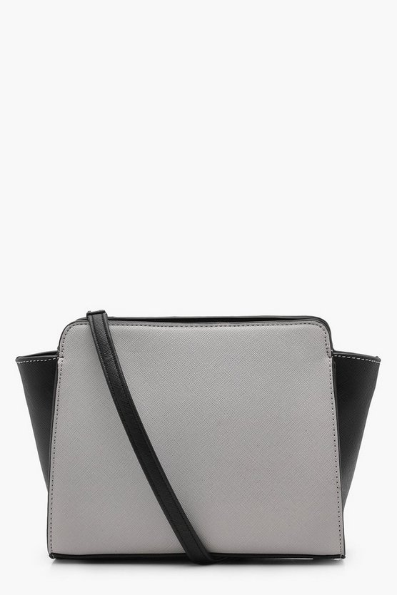 Amy Crosshatch Colour Block Cross Body