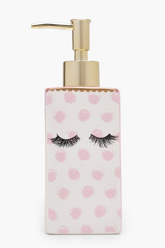Ceramic Eyelash Soap Dispenser