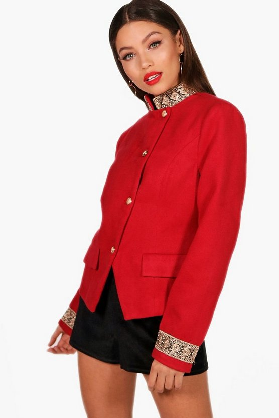Caitlin Crop Trophy Jacket