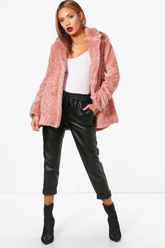 Kirsty Shaggy Faux Fur Coat