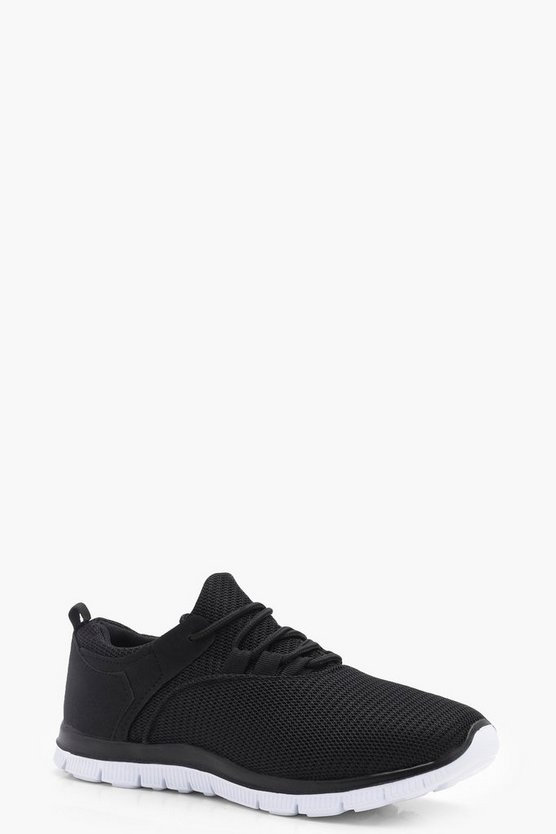 Tabitha Mesh Lace Up Sports Trainers