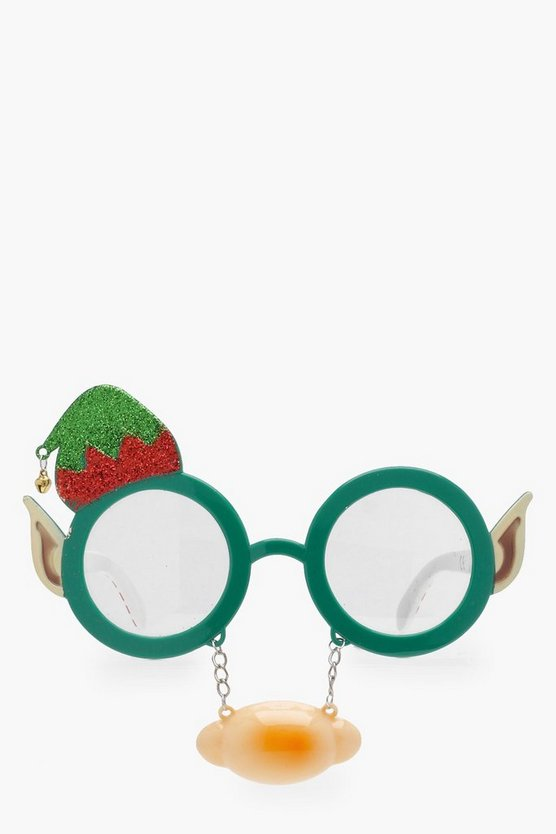 Christmas Elf Glasses