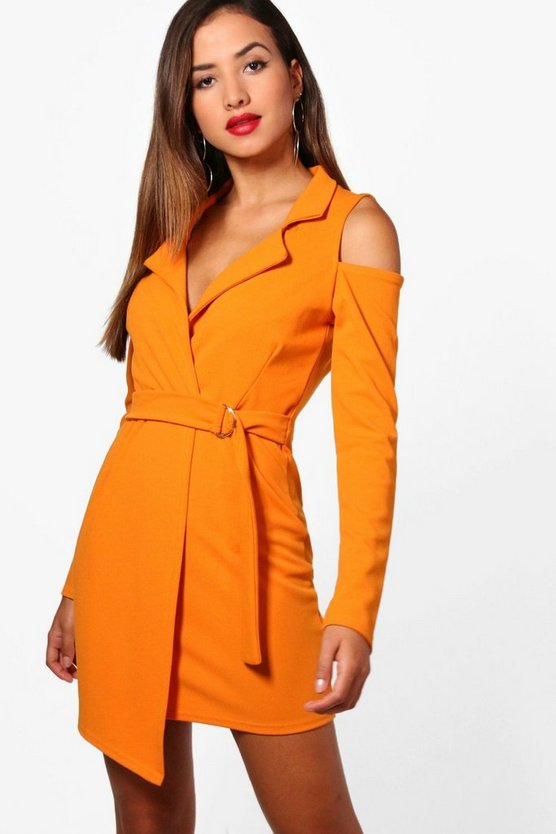 Maisie Cold Shoulder Blazer Dress