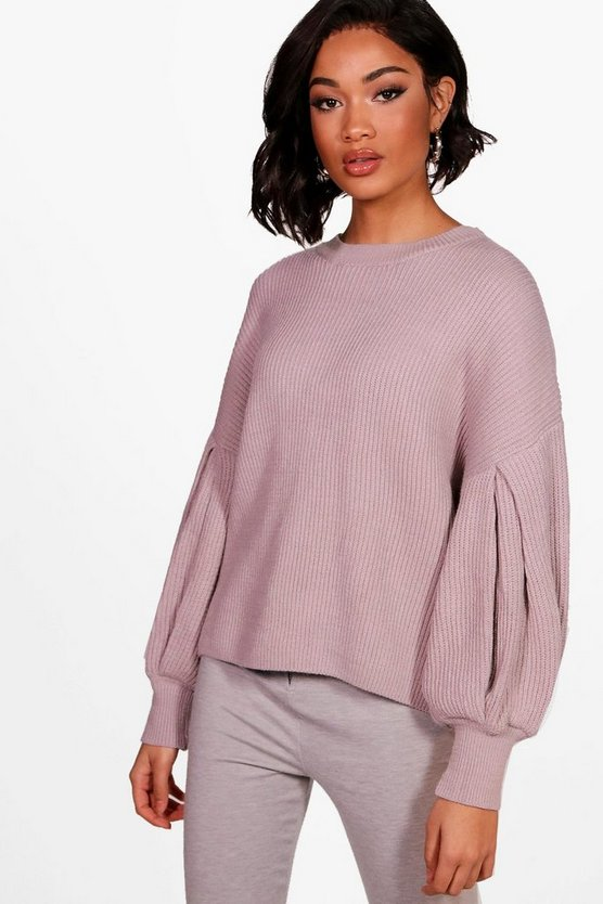Balloon Sleeve Jumper