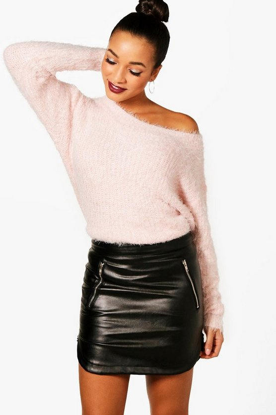 Saskia Fluffy Knit Jumper