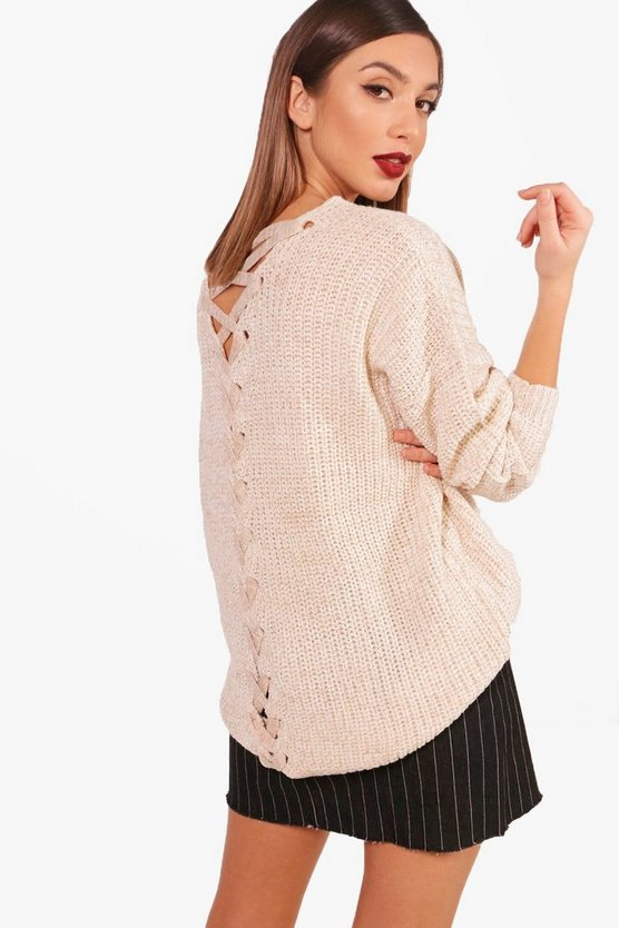 Alice Lattice Back Jumper
