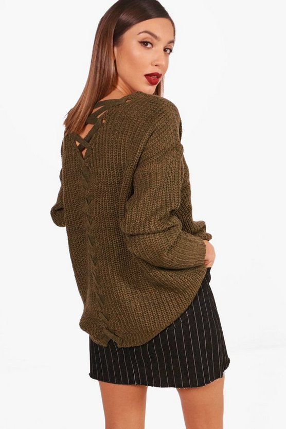 Lattice Back Jumper