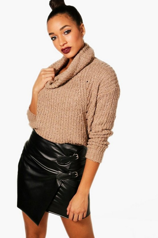 Annie Oversized Cowl Neck Jumper