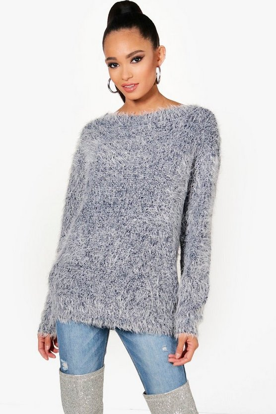 Kaye Fluffy Knit Jumper