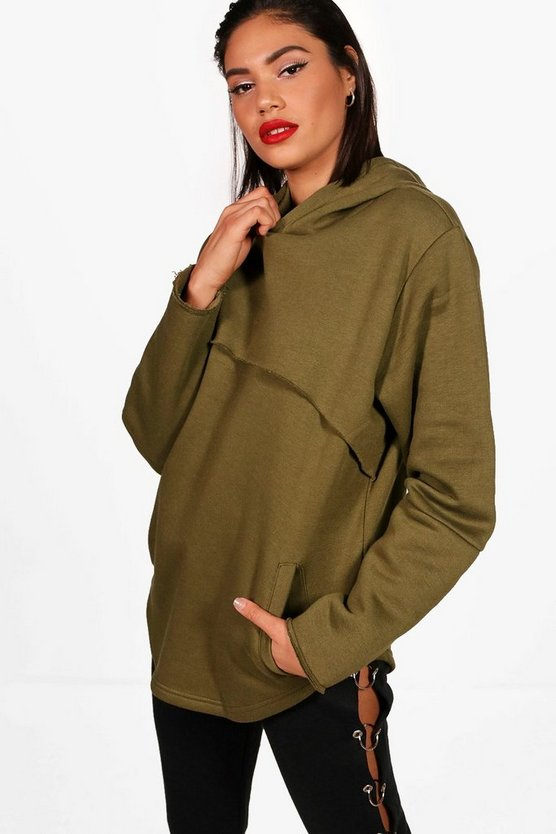 Mae Fit Athleisure Oversized Hoodie