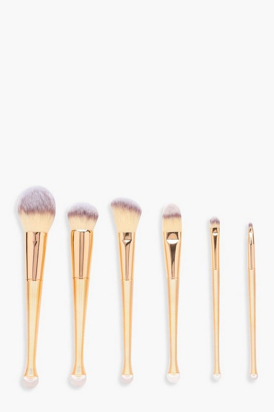 6 Piece Professional Brush Set With Case