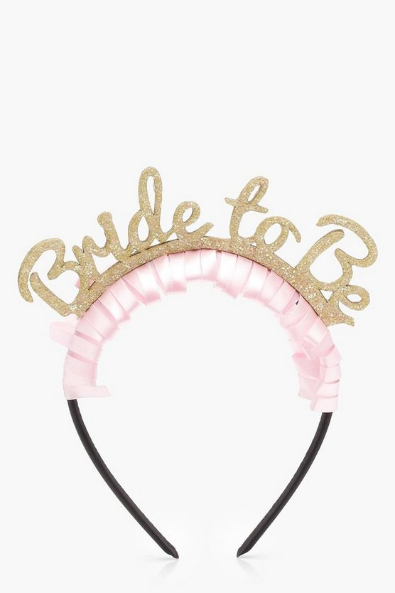 Eddie Bride To Be Hen Party Headband