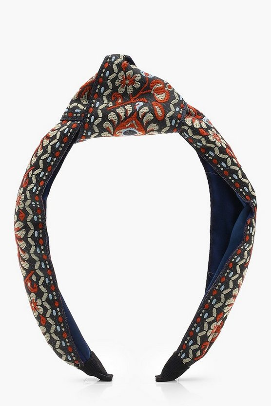 Harriet Tapestry Knot Turban Headband