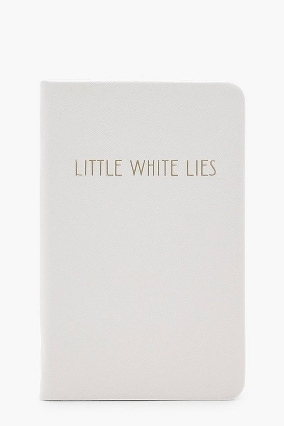 Little White Lies Notizbuch