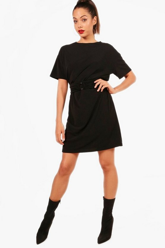 Belle O Ring Slinky Bodycon Dress