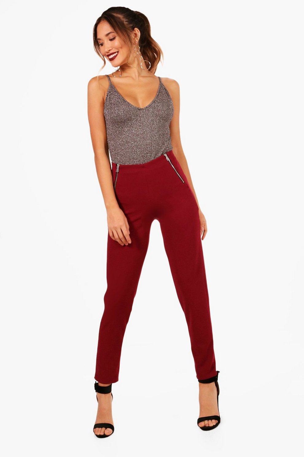 2018 Discount  Boohoo Tailored Skinny Trouser Buy Cheap Low Shipping oqkPLh