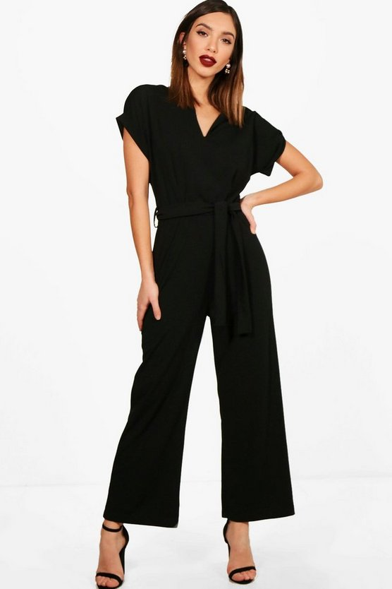 Naomi Tailored Wide Leg Jumpsuit