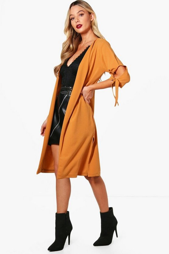 Alice Tie Sleeve Duster