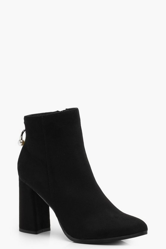 Maria Pointed Toe Shoe Boots
