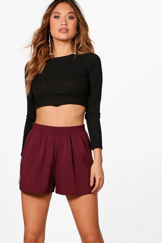 Tailored Woven Shorts